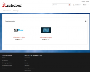 IT-Schober Shop Screenshot
