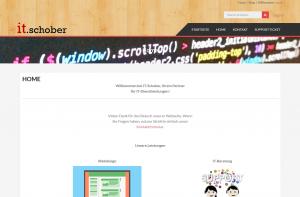 IT-Schober Screenshot Webdesign Referenzen