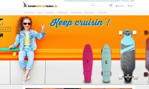 Kinderfahrradladen & Greenbikes Screenshot Webdesign Referenzen