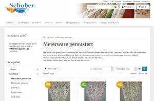 Trendgardine.de Screenshot Webdesign Referenzen