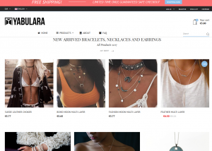 Yabulara Jewellery Screenshot Webdesign Referenzen